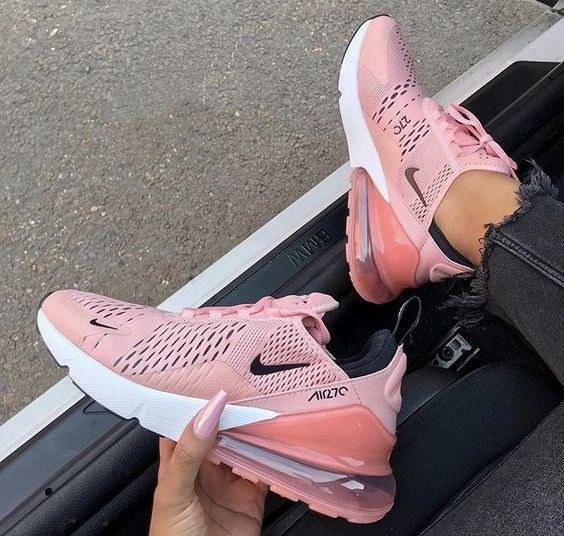 c9a244ba Nike Air Max 270 розовые купить в СПб с доставкой «