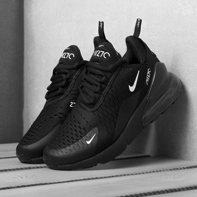 badfe20b Кроссовки Nike Air Max 270 черные с доставкой «